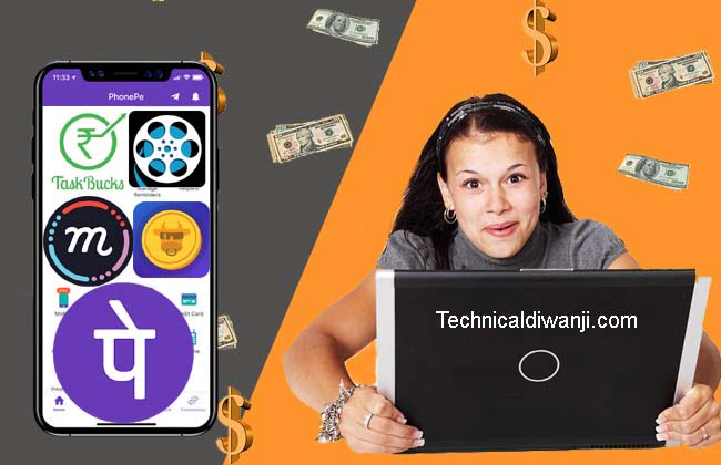 rated money earning apps in india