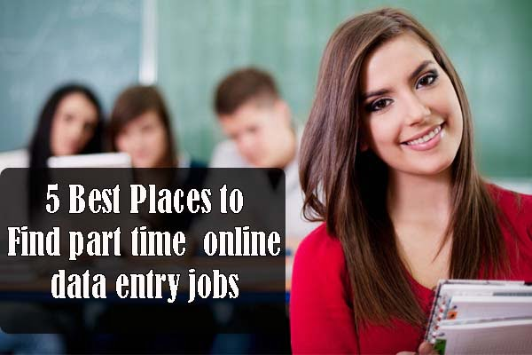 part time online data entry jobs