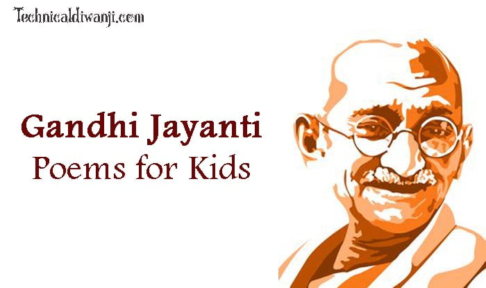 Hindi Kids Poems On Gandhi Jayanti