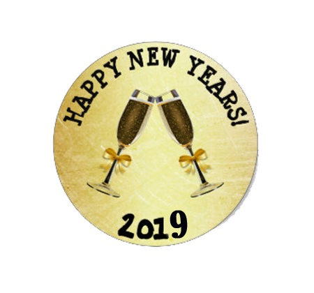 free happy new year stickers