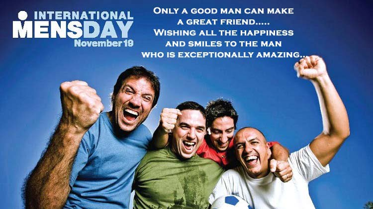 Happy International Men's Day Images Hd , Wallpaper, Pictures, Photos with Quotes massages