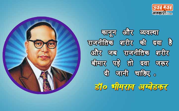 dr babasaheb ambedkar Quotes in hindi images, Wallpaers & Photos