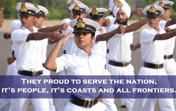 slogans on indian navy day