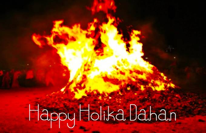 Happy Holika Dahan Image