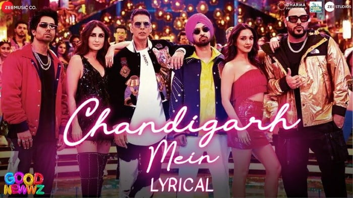 Chandigarh Mein Song Lyrics in Hindi